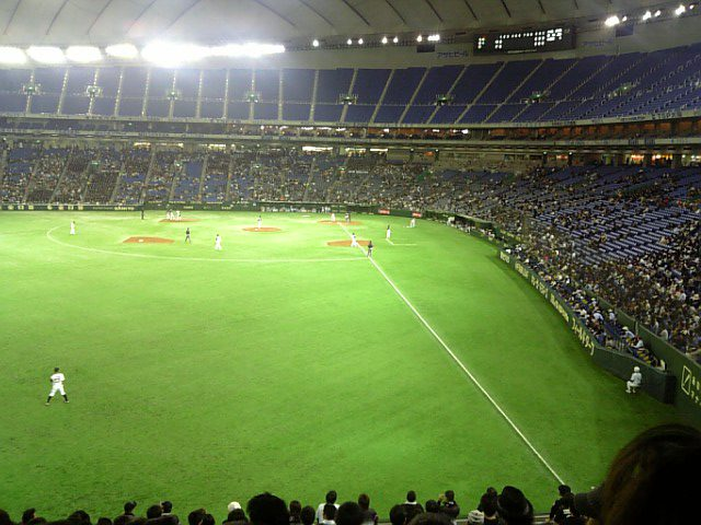 F×M@東京ドーム観戦中